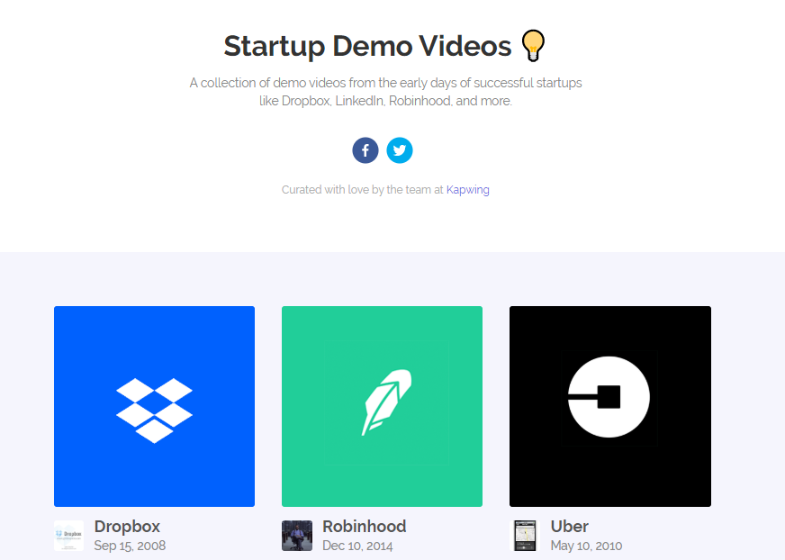 StartupDemoVideos