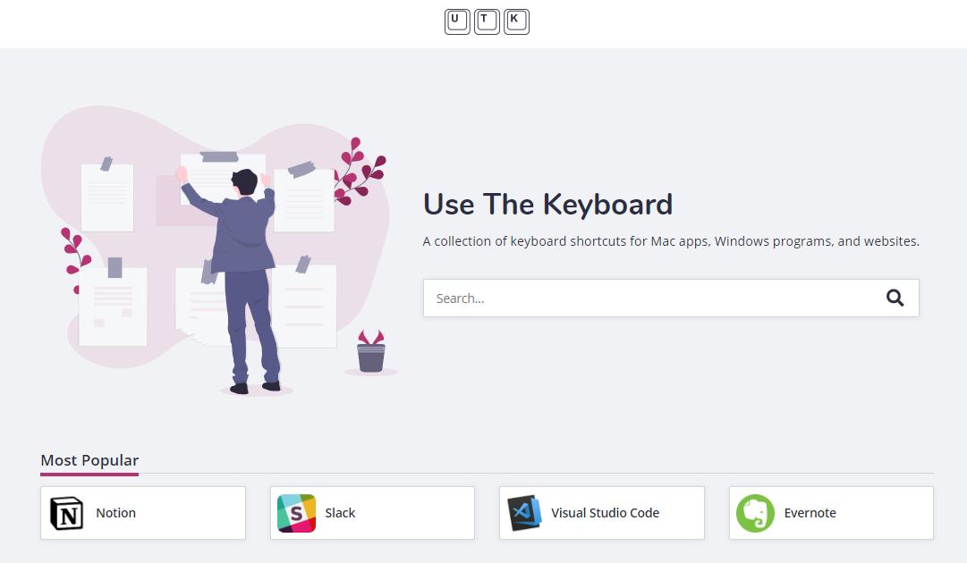 UseTheKeyboard