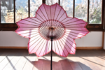 桜をモチーフにした和傘