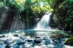 日本の美しい滝の景色
