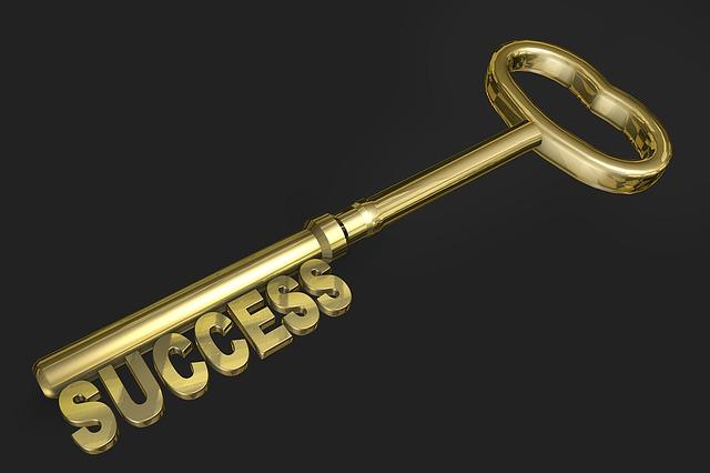 成功を手にする鍵